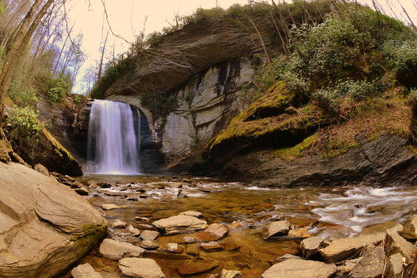 Photograph - Looking Glass Falls Pisgah National Forest 2 by Lisa Wooten