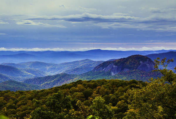 Photograph - Looking Glass Rock Landscape by Allen Nice-Webb