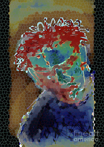 Digital Art - Looking In by Lance Sheridan-Peel
