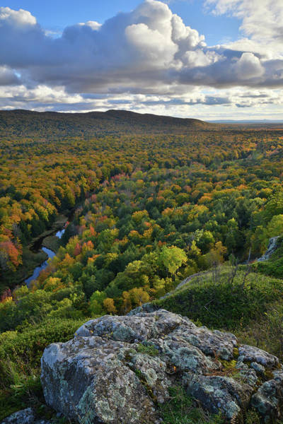Photograph - Looking Out At Porcupine Mountains by Ray Mathis