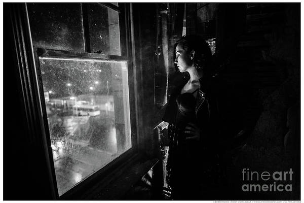 Photograph - Looking Out At The City by Keith Morris