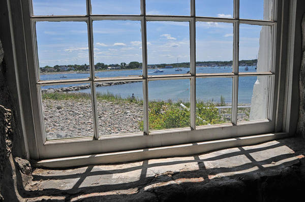 Wall Art - Photograph - Looking Out Lighthouse Window by Mike Martin
