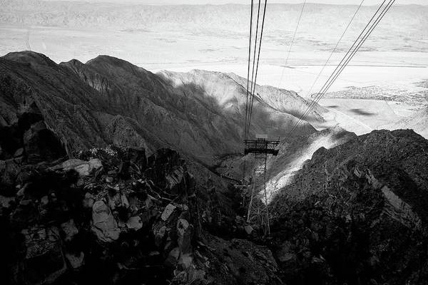 Aerial Tramway Wall Art - Photograph - Looking Out Over Palm Springs From The Arial Tramway by Stephen Russell Shilling
