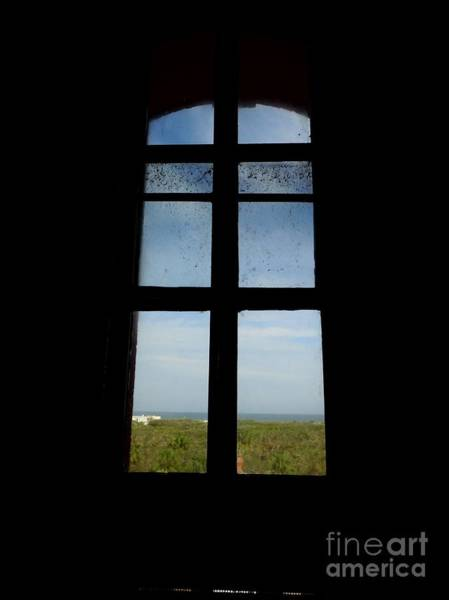 Photograph - Looking Out The Lighthouse Window by D Hackett
