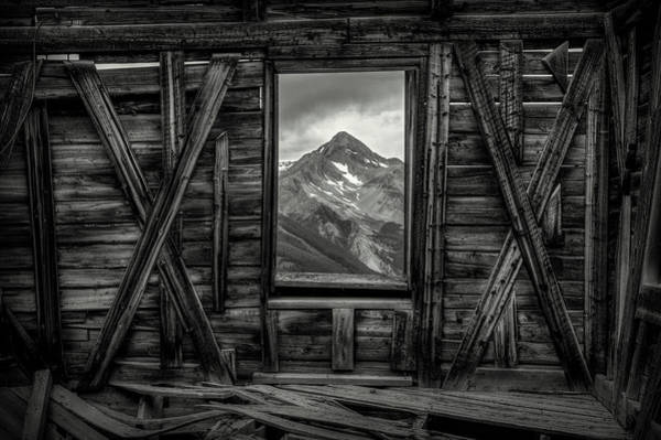 Photograph - Looking Past Black And White by Ryan Smith