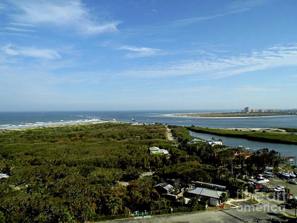 Photograph - Looking South To Ponce Inlet by D Hackett