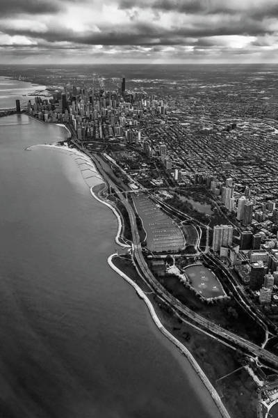 Photograph - Looking South Toward Chicago From The Friendly Skies by Sven Brogren