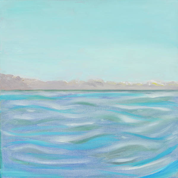 Painting - Looking South Tryptic Part 1 by Laura Lee Cundiff