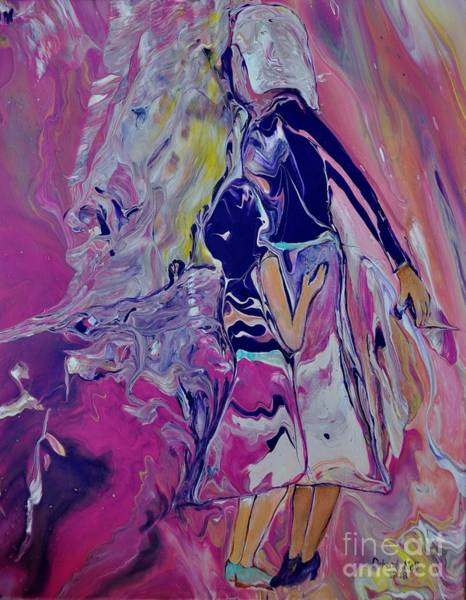 Painting - Looking To The Future by Deborah Nell
