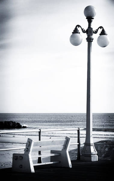Down The Shore Photograph - Looking To The Sea by John Rizzuto