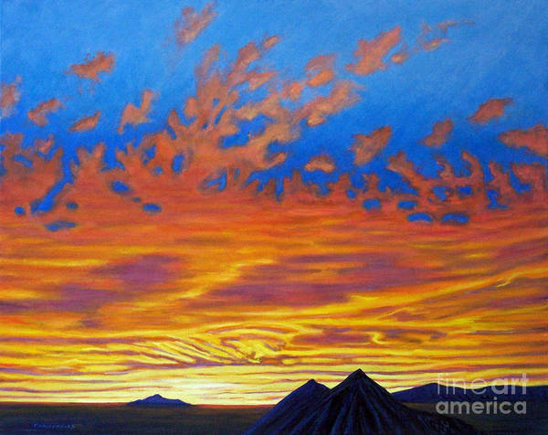 Skyscape Painting - Looking To The Southwest by Brian  Commerford