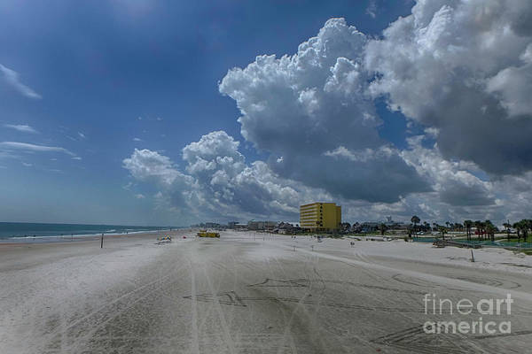 Photograph - Looking Toward Daytona Beach Shores by Judy Hall-Folde