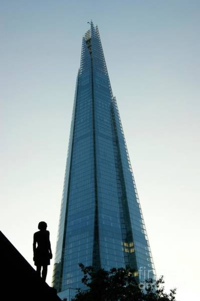 Photograph - Looking Up At The Future by David Birchall