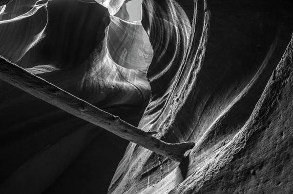 Photograph - Looking Up In Antelope Canyon by Gregory Ballos