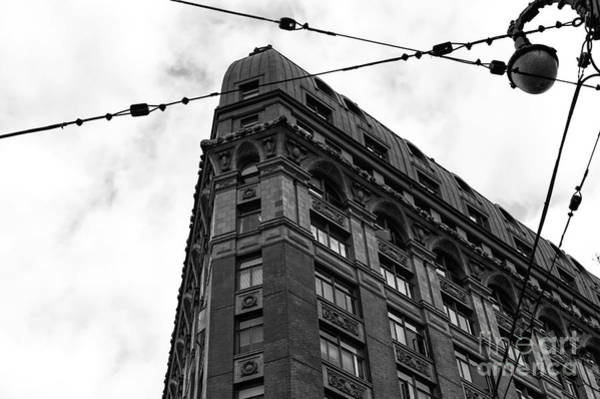 Wall Art - Photograph - Looking Up In Vancouver Mono by John Rizzuto