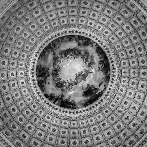 Rotunda Photograph - Looking Up Looking Down by Greg and Chrystal Mimbs