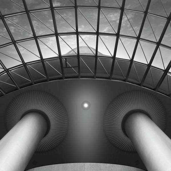 Skylights Wall Art - Photograph - Looking Up by Mike McGlothlen