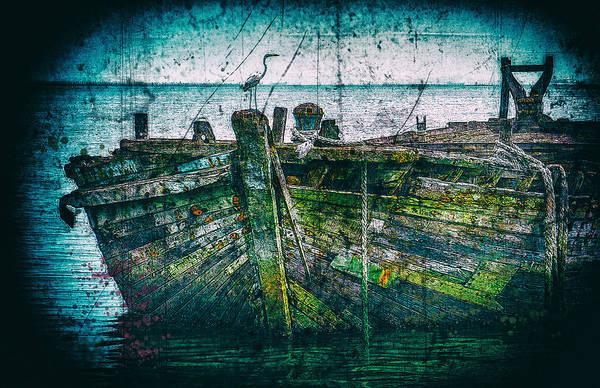 Digital Art - Lookout by Chuck Mountain