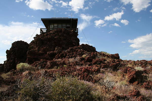 Photograph - Lookout Cinder Butte by Dylan Punke
