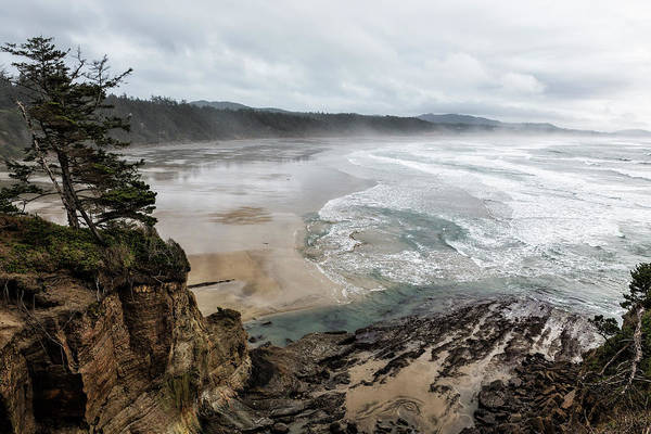 Photograph - Lookout Point Near Otter Rock by Belinda Greb