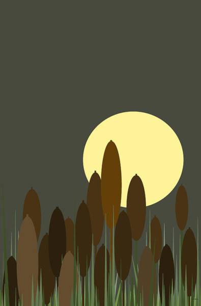 Digital Art - Loon Lake Vertical by Val Arie