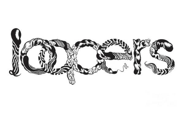 Wall Art - Digital Art - Loopers Logo by Setsiri Silapasuwanchai