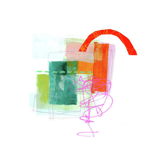 Scribble Painting - Loose Ends#1 by Jane Davies