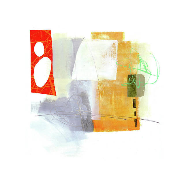 Scribble Painting - Loose Ends#2 by Jane Davies