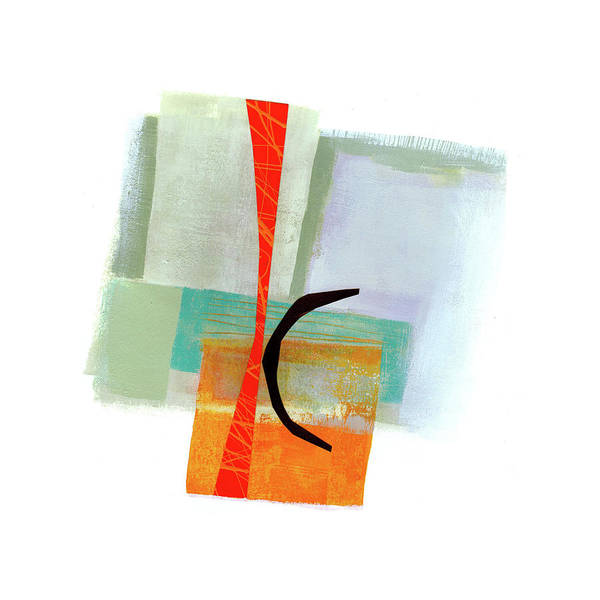 Scribble Painting - Loose Ends#6 by Jane Davies