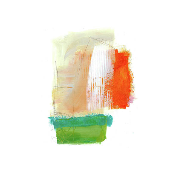 Scribble Painting - Loose Ends#7 by Jane Davies