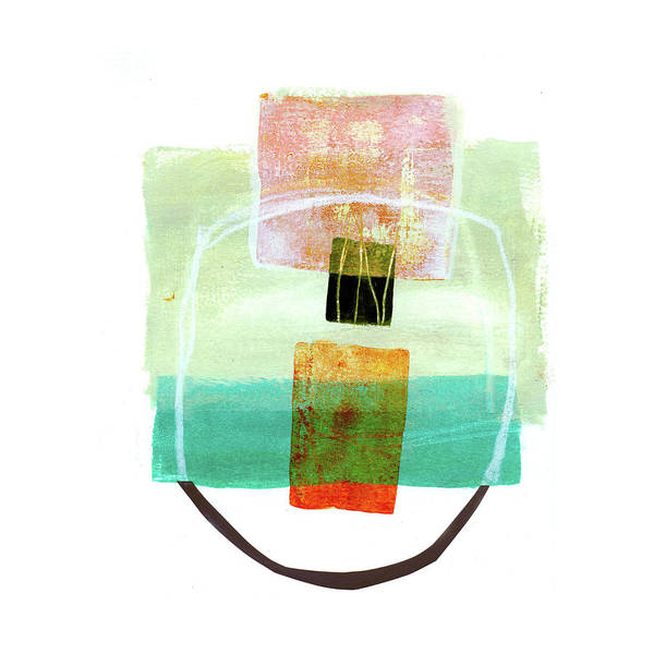 Scribble Painting - Loose Ends #8 by Jane Davies