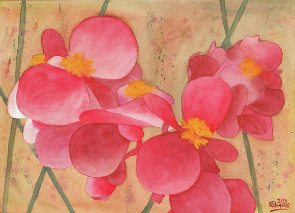 Painting - Loose Petals by Ken Powers