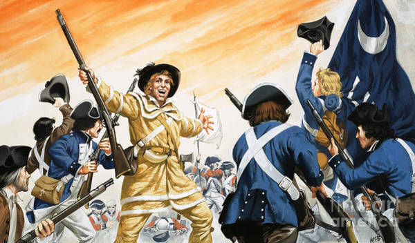 Victorious Painting - Lord Cornwallis Is Forced To Surrender At Yorktown by Angus McBride