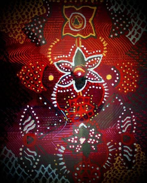 Lord Mixed Media - Lord Ganesha Mirage by Vijay Sharon Govender