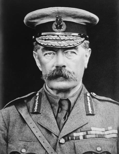 Wwi Wall Art - Photograph - Lord Herbert Kitchener by War Is Hell Store