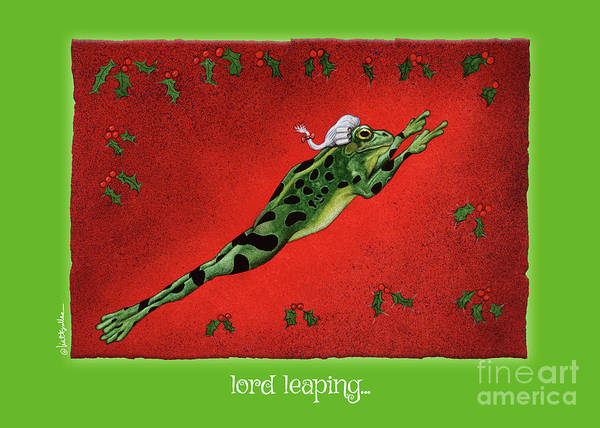 Painting - Lord Leaping... by Will Bullas