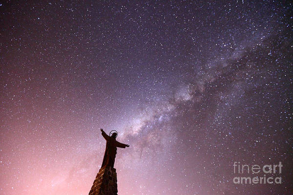 Redeemer Wall Art - Photograph - Lord Of The Universe by James Brunker