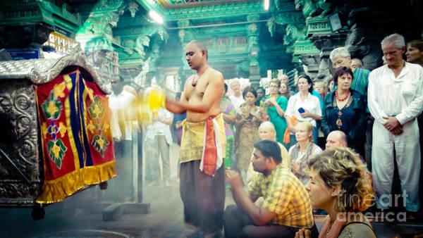 Photograph - Lord Shiva Meenakshi Temple Madurai India by Raimond Klavins