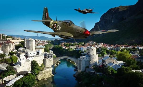 Raf Digital Art - Lords Of The Skies by Mark Donoghue