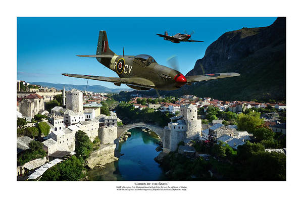 Raf Digital Art - Lords Of The Skies - Titled by Mark Donoghue