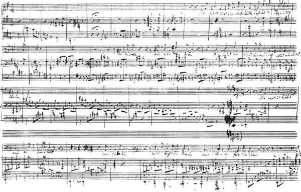 Wall Art - Drawing - Lorelei by Franz Liszt