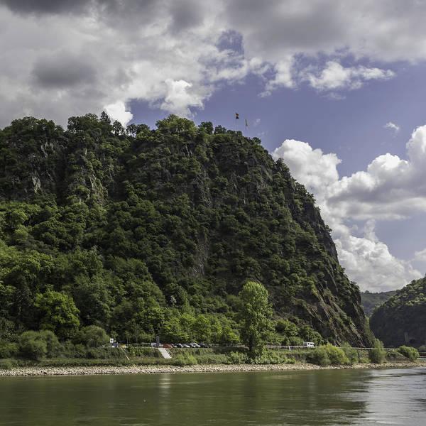 Lurking Photograph - Loreley Rock 10 by Teresa Mucha