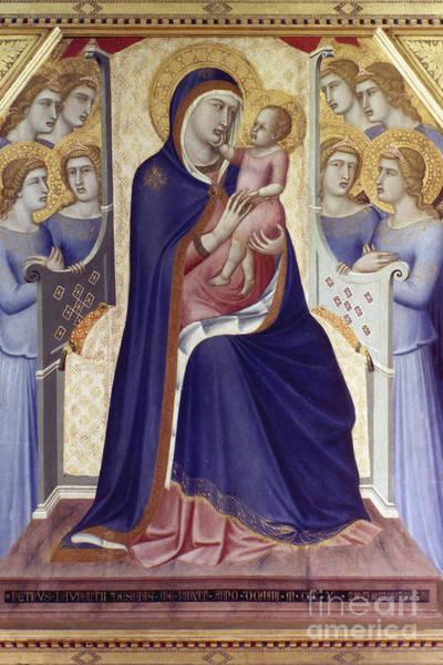 Photograph - Lorenzetti: Madonna by Granger