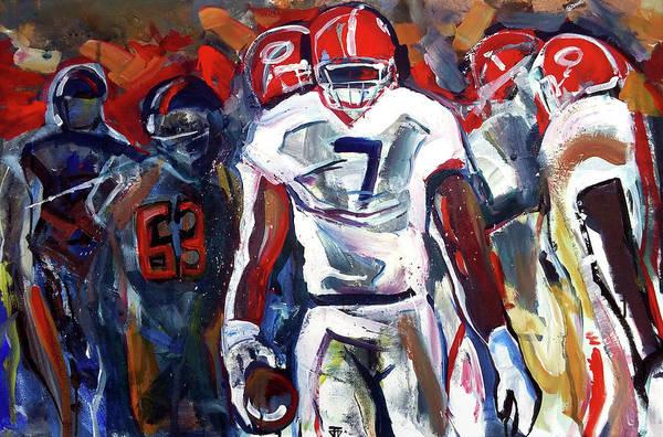 Painting - Lorenzo Control by John Jr Gholson