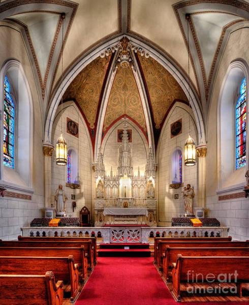 Loretto Chapel Photograph - Loretto Chapel by Jerry Fornarotto