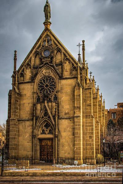 Photograph - Loretto Chapel by Jon Burch Photography