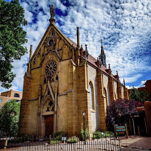Loretto Chapel Photograph - Loretto Chapel - Santa Fe - New Mexico by Jon Berghoff