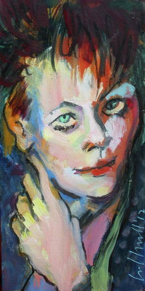 Painting - Lori by Les Leffingwell