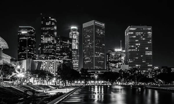 Los Angeles Skyline Photograph - Los Angeles  by April Reppucci