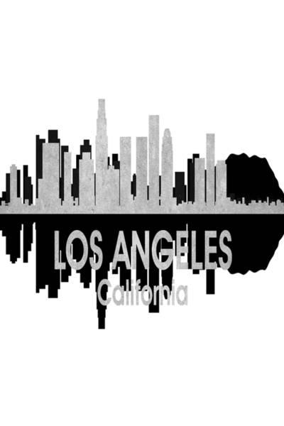 Digital Art - Los Angeles Ca 4 Vertical by Angelina Tamez